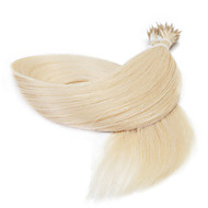 25g 16inch ευθεία χάντρες δαχτυλίδι νανο επέκταση μαλλιά βρόχο