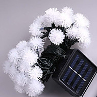 7M Solar Led Lights With 50Led Ball  Holiday Decoration Lamp Festival Christmas Lights Outdoor Lighting