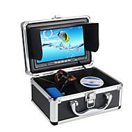 "30M 1000TVL Fish Finder Underwater Fishing 7"" Video Infared Camera Monitor Anti-Sunshine Shielf W/ Sunvisor"