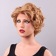 Attractive Short Loose Wave Lace Front Human Hair Wig 10 Inches
