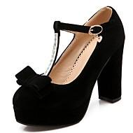 Women's Heels Spring / Summer / Fall Heels / Platform / Round Toe Synthetic  / LeatheretteWedding / Office & Career /