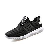 Herren-Sneaker-Lässig / Sportlich-Tüll-Flacher Absatz-Flache Schuhe-Schwarz / Blau / Grau