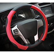 自動車のステアリングホイールセット、革、四季の一般的な、2052 \ 53-2dのセットの内部、直径38センチメートル