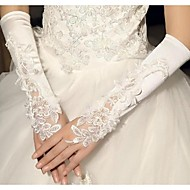 Elbow Length Fingerless Glove Cotton Bridal Gloves Spring Summer Fall Winter lace