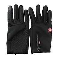 Ski-Handschuhe Vollfinger Damen Herrn Unisex Sporthandschuhe warm halten Wasserdicht Windundurchlässig SkifahrenFahrradhandschuhe