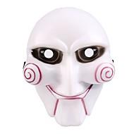 bir cadılar bayramı maskesi kaliteli pvc yapılmış motorlu testere katil tema maske orijinal gördüm