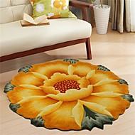 country stylu 1ks polypropylen oblast koberec květinovým vzorem