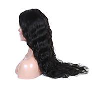 16-26 Inch Natural Black Color Natural Wavy Lace Wig U Part 100% Human Virgin Hair Lace Wig With Baby Hair