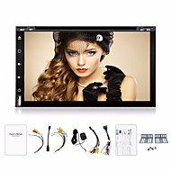 4 cores 2Din android 4.4os 6,95 inch auto dvd-speler GPS navi stereo radio in-dash bt usb / sd universele speler