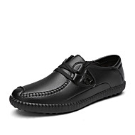 Men's Oxfords Casual/Office & Career/Travel/Party & Evening Microfiber Leather Walking Fashion Business Shoes