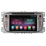 1024*600 For Ford Focus Mondeo S-Max 2008-2011 Car DVD Player Quad Core Android 4.4 GPS Navigation Radio 2G RAM