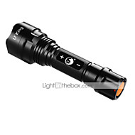 U`King® פנס LED LED 1200LM Lumens 3 מצב T6 XM-L2 18650 Dimmable מחנאות/צעידות/טיולי מערות חוץ סגסוגת אלומניום