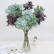 1 1 ブランチ ポリエステル / プラスチック 植物 テーブルトップフラワー 人工花 22.4inch/57cm