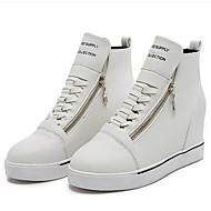 Women's Sneakers Spring / Fall Wedges Leatherette Outdoor / Casual Wedge Heel Zipper / Lace-up  Others