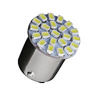10 x valkoinen 1156 BA15s 22-SMD LED lamput vilkku varmuuskopio P21W 382 7506