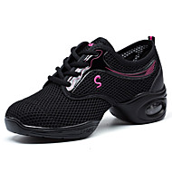 Non Customizable Women's Dance Shoes Synthetic Synthetic Dance Sneakers / Beginner Black / Red / White