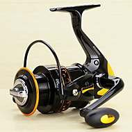 Spinning Reels 5.2/1 13 Ball Bearings Exchangable Spinning Lure Fishing-AD2000-5000 Yumoshi