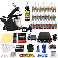 solong tattoo compleet tattoo kit 1 promachine s 28 inkten voeding naald grips tips