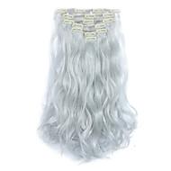 סינטטי תוספות שיער 130 הַאֲרָכַת שֵׂעָר