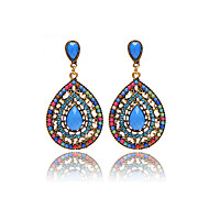 Hot Sale 2016 Brand Design Bohemian Water Drop Earrings Vintage Fashion Dangle Earrings For Women Accessories