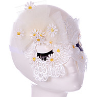 Lace Mask 1pc Holiday Dekorationer Party Masker Sej / Mode En Størrelse Hvid Blonder