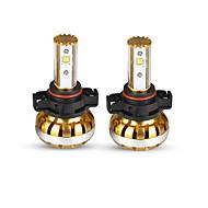 liancheng® 60W 7800lm 9 ~ 32V alto brilho levou farol kit-5202 / psx24w para o carro, off-road, utv, atv