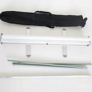 Display-Rack einfach Kunststoff-Display-Anzeigen Fotodruck kleine tragbare Ausstellung Display-Rack-Aktivitäten zu ziehen