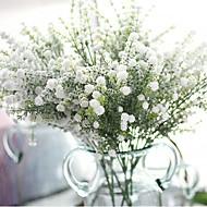 1 Gren Polyester Plastikk Brudeslør Bordblomst Kunstige blomster 69(27.1'')
