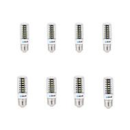 9 E14 / G9 / GU10 / E26/E27 / B22 Lâmpadas Espiga B 42 SMD 5733 800 lm Branco Quente / Branco Frio Decorativa AC 220-240 V 8 Pças.