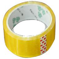 tilpassede tape forsegling tape gjennomsiktige tapen merking tape gul tape super tack lim 40y