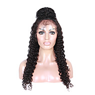 Malaysian Virgin Human Hair Curly Lace Front Human Hair Wigs Free Part Glueless Lace Wigs With Baby Hair