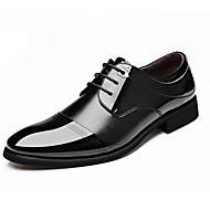 Bărbați Pantofi Piele Primăvară Vară Toamnă Iarnă Pantofi formale Confortabili Oxfords Plimbare Carouri Buline Dantelă Pentru Casual