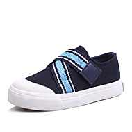 Boys' Shoes Outdoor /  Casual Canvas Flats Spring / Summer / Fall Comfort / Round Toe / Flats Buckle / Hook & Loop