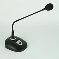 Tilkoblet-Svanehals mikrofon-konferanse mikrofonWith6.3mm