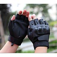 The Black Hawk spesialstyrker taktiske hansker lær kutte halvparten hansker trenings utendørs ride motorsykkel hansker
