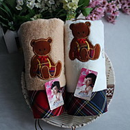 Pure Cotton Package Edge Bears Thickening Towel Embroidery Football