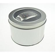 sølvfarget metall materiale emballasje&frakt watch pakking boks en pakke med tre