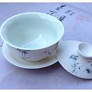 A Complete Set of Ceramic Tea Set