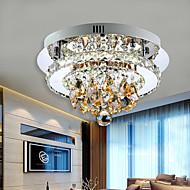 צמודי תקרה ,  מודרני / חדיש כרום מאפיין for קריסטל LED מתכת חדר שינה חדר אוכל חדר עבודה / משרד מסדרון