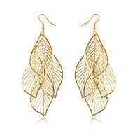 Ohrring Blattform Schmuck 1 Paar Quaste / Modisch / Böhmen-Art Alltag / Normal Aleación Damen Goldfarben