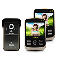 3.5 Inch TFT DC5V1A  KiVOS Wireless Doorbell KDB301