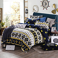 Soft Print Bedlinen Fleece winter bedding set queen king size soft bedsheet pillowcase Duvet cover 4pcs bed set