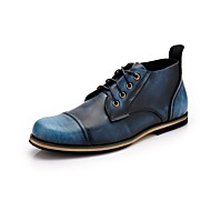 Westland® Men's Boots  Fashion Boots Cowhide Outdoor / Party & Evening / Casual Low Heel Lace-up Blue / Brown / Red