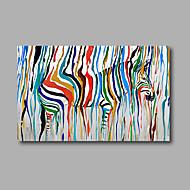 Ručně malované Krajina / Zvíře / Pop olejomalby,Moderní Jeden panel Plátno Hang-malované olejomalba For Home dekorace