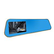 jian yang jx761080p hd kettős lencse autó kamera autó videó felvevő 4,3 hüvelykes képernyő az első és a hátsó jármű DVR