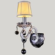 White crystal wall lamp