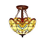 40 Vestavná montáž ,  design Tiffany Ostatní vlastnost for LED / návrháři Sklo dětský pokoj / vstupní chodba / Chodba / garáž