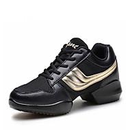Na míru-Pánské-Taneční boty-Taneční tenisky / Moderní-Koženka-Rovná podrážka-Šedá / Zlatá