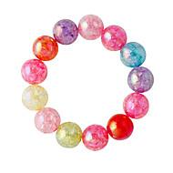 Bracelet Strand Bracelet Alloy Round Fashion Jewelry Gift Assorted Color,1pc
