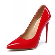 Women's Shoes Synthetic / Patent Leather / Leatherette Spring / Summer / Fall Heels / Pointed Toe HeelsWedding